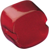 TAILLIGHT LAYDOWN RED LENS W/ TOP TAGLIGHT HD 84-98 - 12-0018C-BC446