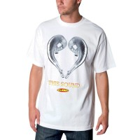 TEE LOVE SOUND WHT M - SP6118997WHTM
