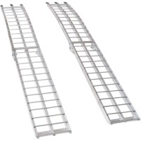 ARCHED FOLDING ALUMINUM RAMP 90 - AR-07M