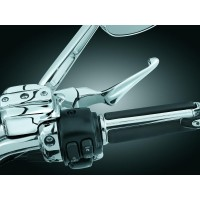 BOSS BLADE LEVERS FOR CABLE CLUTCH CHROME - 1057