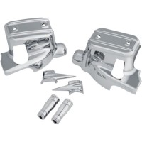 CHROME BRAKE & CLUTCH CONTROL DRESS-UP KIT