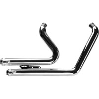 COMPLETE EXHAUST SYSTEM BANDIT 2-INTO-2 STAINLESS STEEL CHROME - 7210507