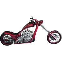 CUSTOM EXHAUST WITH SLASH CUT TIPS FOR RIGHT SIDE DRIVE MODELS HD - LA-1187-02