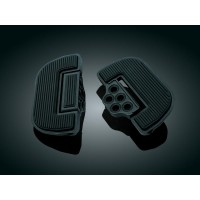 FLOORBOARD RIBBED BLACK - 4357