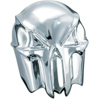 HORN COVER SKULL CHROME - 7718