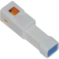 JST MINI SERIES TAB CONNECTOR FEMALE W/SEAL 2-WIRE - NJST-02P