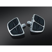 KINETIC MINI BOARDS WITH MALE MOUNT ADAPTERS CHROME - 7610