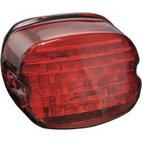 LOW PROFILE ECE LED TAILLIGHT RED WITHOUT LICENSE ILLUMINATION - 5467