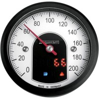 MOTOSCOPE TINY 49 MM ANALOG SPEEDOMETER BLACK - 5001010