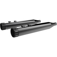 MUFFLERS 4 HIGH-PERFORMANCE WITH BILLET TIPS ECLIPSE BLACK - 201850