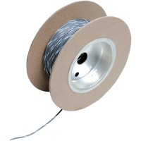OEM COLOR WIRE 18 GAUGE/100' (1MM'/30M) GREY/WHITE - NWR-89-100