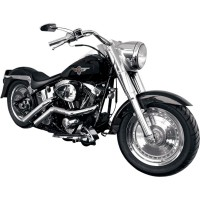 STRAIGHT CUT EXHAUST PIPES FOR HD - LA-1187-01