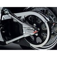 SWINGARM COVERS WITH LED - 8221