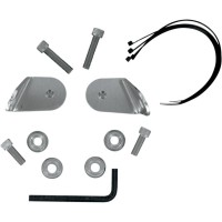 TURN SIGNAL RELOCATION KIT COVERED FORK W/O LIGHTBAR HD FATBOY/HERITAGE - MEM8984