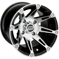 WHEEL 387 X 14 X 8 BOLT PATTERN 4/110 OFFSET 2+6 - 387MO148110BW2