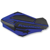 HANDGUARDS BLUE/BLK - 34404