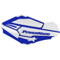 HANDGUARDS BLUE/WHT - 34421