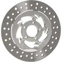 RC COMPONENTS DISC ROTOR FLOATING REAR 11.5 SAVAGE CHROME - ZSS11585C-R2K