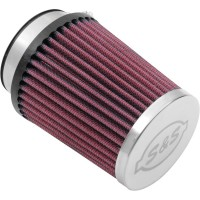 REPLACEMENT AIR FILTER FOR TUNED INDUCTION 2-1 AIR CLEANER RED - 17-1020