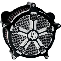 RSD AIR FILTERS ASSEMBLIES TURBO CHROME Throttle by wire models only/ All air cleaners can be used on Mikuni carbs with use of adapter – part number HS42/001-K (sold separately) - 0206-2034-CH