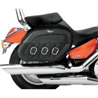 SADDLEBAG SPECIFIC FIT SYNTHETIC LEATHER PLAIN