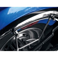 UNIVERSAL SADDLEBAG SUPPORT KIT CHROME - 3501-0345