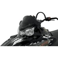 WINDSHIELD COBRA™ 11.5 POLYCARBONATE CUSTOM REPLACEMENT BLACK - 11922