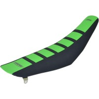 6 RIB GRIPPER SEAT COVER GREEN TOP BLACK SIDES BLACK RIBS - 95936KGK