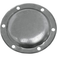 END CAP CLOSED (FOR 4 DISCS) POLISHED STAINLESS STEEL - 406-3046