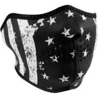 FLAG HALF FACE MASK ONE SIZE - WNFM091H