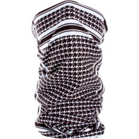 HOUNDSTOOTH MOTLEY TUBE™ FLEECE LINED ONE SIZE - TF235BW