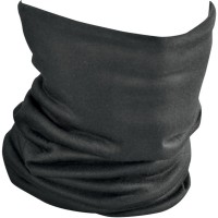 MOTLEY TUBE™ FLEECE LINED ONE SIZE SOLID BLACK - TF114