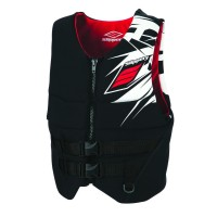 REV BUOYANCY VEST BLACK/RED X-SMALL - 98713990