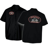 SHIRT SPEED SHOP BLACK XL - TT110S24BKXR