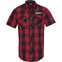 SHOP SHIRT RED PLAID LG - TT628S93RBLR