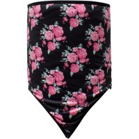 SKULL FLOWER COMBO GAITER COZY FLEECE ONE SIZE - WNGF002