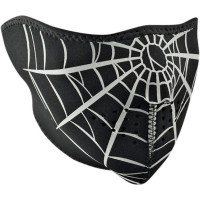 SPIDER WEB HALF FACE MASK ONE SIZE - WNFM055H
