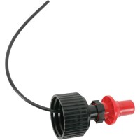 SPILL PROOF SPOUT BLACK/RED - RRS
