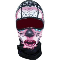 SUGAR SKULL FULL FACE BALACLAVA ONE SIZE - WBP082