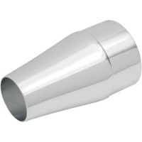 SUPERTRAPP TAPERED END CAP FOR INTERNAL DISC SERIES; CHROME - 308-3340