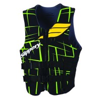 SURGE BUOYANCY VEST BLACK/GREEN SMALL - 98713998