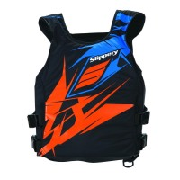 SWITCH BUOYANCY VEST BLACK/ORANGE LARGE - 62243980