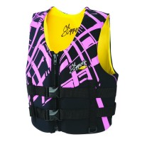 WOMENS ELECTRA BUOYANCY VEST BLACK/PINK X-SMALL - 98614001