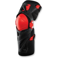 YOUTH FORCE XP KNEE GUARD RED ONE SIZE - 2704-0432