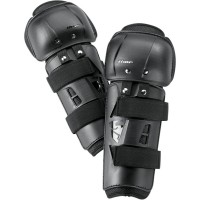 YOUTH SECTOR KNEE GUARD BLACK ONE SIZE - 2704-0083