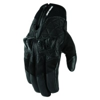 AKROMONT™ SHORT GLOVES BLACK LARGE - 3301-2893