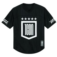 GRIDDLE™ SHORT SLEEVE JERSEY BLACK/WHITE SMALL - 2824-0038
