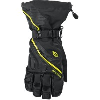 MERIDIAN S8 WP LONG GLOVES BLACK/HI-VIZ YELLOW LARGE - 3340-1208