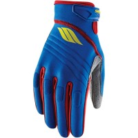 CIRCUIT S17 WATERSPORT GLOVES BLUE/LIME X-SMALL - 3260-0342