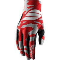 FLEX LITE S17 WATERSPORT GLOVES RED/SILVER X-SMALL - 3260-0360